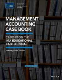 Link to an enlarged image of Management Accounting Case Book : Cases from the IMA Educational Case Journal