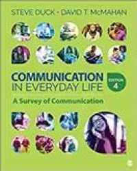Link to an enlarged image of Communication in Everyday Life + Goreact : A Survey of Communication (4th PCK Paperback + )