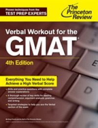 Link to an enlarged image of Verbal Workout for the Gmat (Princeton Review Series) (4th CSM)
