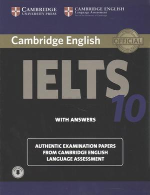 Books Kinokuniya: Cambridge Ielts 10 Self Study Pack