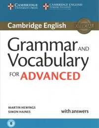 cambridge english advanced  Books Kinokuniya: Cambridge Grammar and Vocabulary for Advanced Book ...