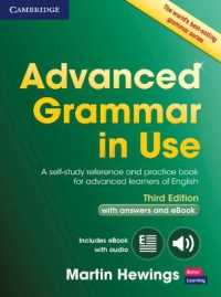 Advanced Grammar in Use Book with Answer... by Hewings, Martin