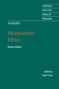 Link to an enlarged image of Nicomachean Ethics (Cambridge Texts in the History of Philosophy) (Revised)