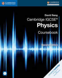Link to an enlarged image of Cambridge IGCSE Physics Coursebook (Cambridge International Examinations) (2nd Paperback + CD-ROM)