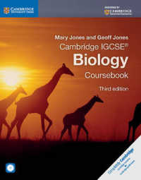 Link to an enlarged image of Cambridge IGCSE Biology Coursebook (3rd Paperback + CD-ROM)