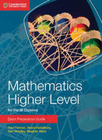 Link to an enlarged image of Mathematics Higher Level for the IB Diploma Exam Preparation Guide (Cambridge Exam Preparation Guides for the Ib Diploma)