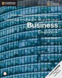 image of Cambridge International AS and a Level Business Coursebook (3rd MAC WIN)