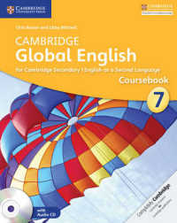Link to an enlarged image of Cambridge Global English Coursebook 7 : For Cambridge Secondary 1 English as a Second Language (Cambridge Global English) (CSM Paperback + CO)
