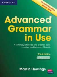 Link to an enlarged image of Advanced Grammar in Use Book with Answers: a Self-study Reference and Practice Book for Advanced Learners of English. 3rd ed.