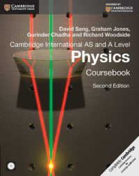 Link to an enlarged image of Cambridge International AS and a Level Physics Coursebook (2nd MAC WIN)