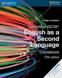 Link to an enlarged image of Cambridge Igcse English as a Second Language (Cambridge International Igcse) (5th Coursepack)