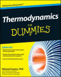 Link to an enlarged image of Thermodynamics for Dummies (For Dummies (Math & Science))