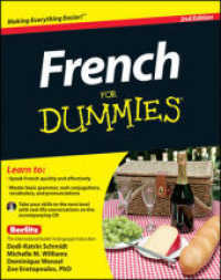 Link to an enlarged image of French for Dummies (For Dummies (Language & Literature)) (2nd Paperback + Spoken Word Compact Disc)