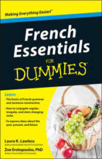 Link to an enlarged image of French Essentials for Dummies (For Dummies (Language & Literature)) (Bilingual)