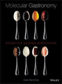 Link to an enlarged image of Molecular Gastronomy : Scientific Cuisine Demystified