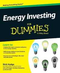 Link to an enlarged image of Energy Investing for Dummies (For Dummies (Business & Personal Finance))