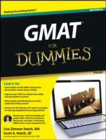 GMAT for Dummies : Premier (Gmat for Dum... by Hatch, Lisa Zimmer Hatch, Scott A.