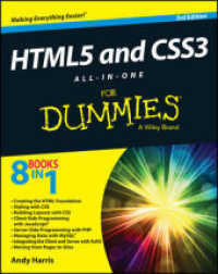 Link to an enlarged image of HTML5 and CSS3 All-in-one for Dummies (For Dummies) (3rd)