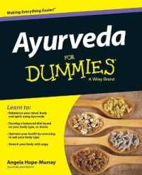 Link to an enlarged image of Ayurveda for Dummies (For Dummies (Psychology & Self Help))