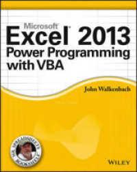 Link to an enlarged image of Excel 2013 Power Programming with VBA (Mr. Spreadsheet's Bookshelf)
