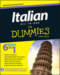 Link to an enlarged image of Italian All-in-One for Dummies (For Dummies (Language & Literature))