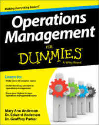 Link to an enlarged image of Operations Management for Dummies (For Dummies (Business & Personal Finance))