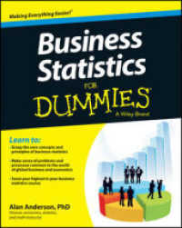Link to an enlarged image of Business Statistics for Dummies (For Dummies (Business & Personal Finance))