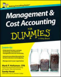 Link to an enlarged image of Management and Cost Accounting for Dummies : UK Edition (For Dummies (Business & Personal Finance)) (2nd)