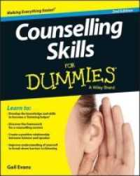 Link to an enlarged image of Counselling Skills for Dummies (For Dummies (Psychology & Self Help)) (2nd)