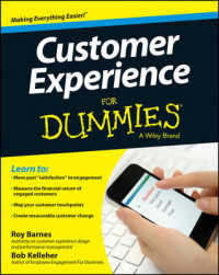Link to an enlarged image of Customer Experience for Dummies (For Dummies)