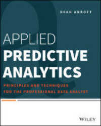 Link to an enlarged image of Applied Predictive Analytics : Principles and Techniques for the Professional Data Analyst