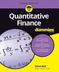 Link to an enlarged image of Quantitative Finance for Dummies (For Dummies)