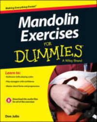 Link to an enlarged image of Mandolin Exercises for Dummies (For Dummies) (Paperback + Pass Code RE)