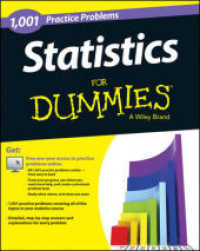 Link to an enlarged image of 1,001 Statistics Practice Problems for Dummies (For Dummies (Math & Science)) (Paperback + Pass Code)