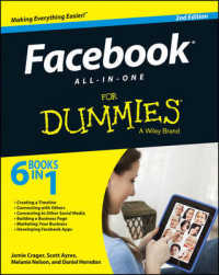 Link to an enlarged image of Facebook All-in-One for Dummies (For Dummies (Computer/tech)) (2nd)