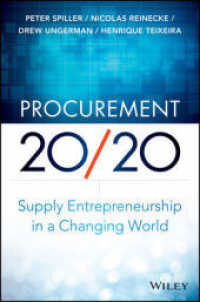 Link to an enlarged image of Procurement 20/20 : Supply Entrepreneurship in a Changing World