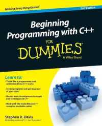 Link to an enlarged image of Beginning Programming with C++ for Dummies (For Dummies) (2nd)