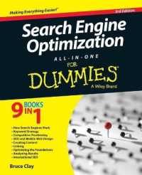 Link to an enlarged image of Search Engine Optimization All-in-One for Dummies (For Dummies) (3rd)