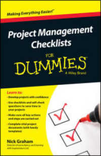 Link to an enlarged image of Project Management Checklists for Dummies (For Dummies)