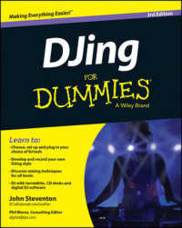 Link to an enlarged image of DJing for Dummies (For Dummies) (3rd)