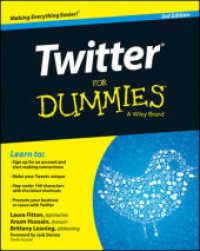 Link to an enlarged image of Twitter for Dummies (For Dummies) (3rd)