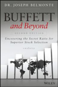 Link to an enlarged image of Buffett and Beyond : Uncovering the Secret Ratio for Superior Stock Selection (2nd)