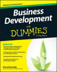 Link to an enlarged image of Business Development for Dummies (For Dummies)