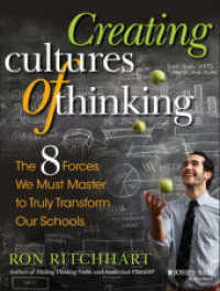 Link to an enlarged image of Creating Cultures of Thinking : The 8 Forces We Must Master to Truly Transform Our Schools