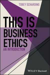 Link to an enlarged image of This Is Business Ethics : An Introduction (This Is Philosophy)
