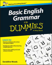 Link to an enlarged image of Basic English Grammar for Dummies, UK : UK Edition (For Dummies (Language & Literature))