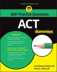 1,001 ACT Practice Questions for Dummies... by Hatch, Lisa Zimmer Hatch, Scott A.