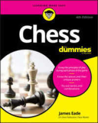 Chess for Dummies(4TH ed.) 9781119280019