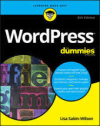 Wordpress for Dummies (For Dummies (Comp... by Sabin-wilson, Lisa Mullenweg, Matt (EDT)