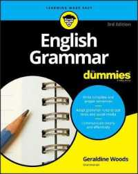 Link to an enlarged image of English Grammar for Dummies (For Dummies (Language & Literature)) (3rd)